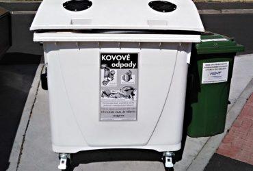 V Sokolově přibyly nádoby na kovový odpad