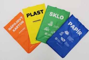 V Sokolově rozdávají zdarma tašky na tříděný odpad