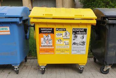 V Chebu se letos lépe třídí odpad